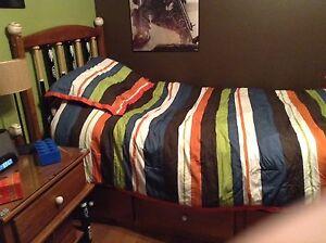 Kids baseball bed