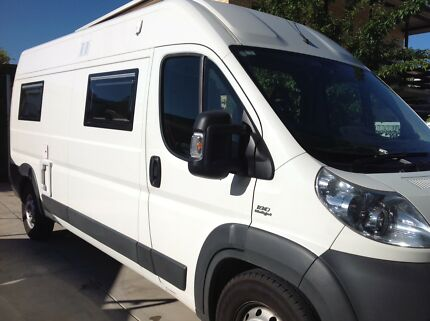 Motorhome Fiat Ducato 2014  Auto Low  78858 KM Toorak Gardens Burnside Area Preview