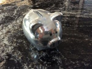 Metal Piggy Bank