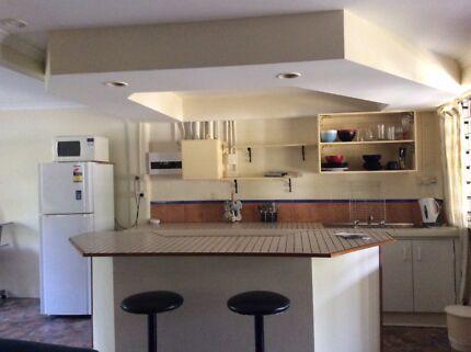 Studio for rent under house