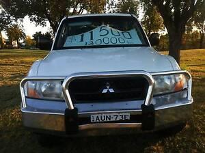 2003 Mitsubishi Pajero Wagon Inverell Inverell Area Preview