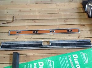 Ford tailgate mouldings