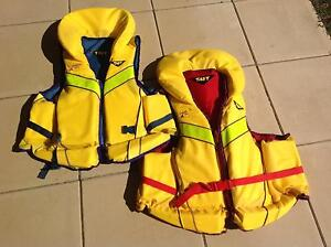 Two adult  Taft brand Life Jackets Port Macquarie Port Macquarie City Preview