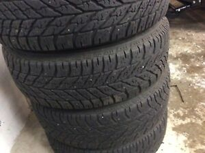 Rims with winter tires 185 65 R14