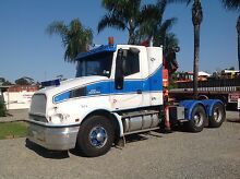Prime Mover Crane Truck Doubleview Stirling Area Preview