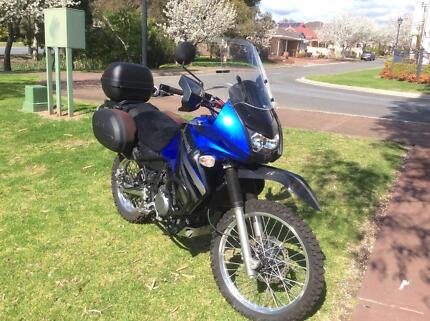 KLR650 plus all the kit you'll need to hit the road today! Banksia Park Tea Tree Gully Area Preview