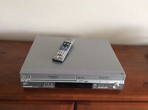 Panasonic VHS/DVD recorder player. Hillvue Tamworth City Preview