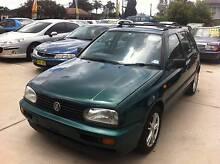 1997 Volkswagen Golf Sporty 4 cyl 5 speed Hatch Top Condition Granville Parramatta Area Preview