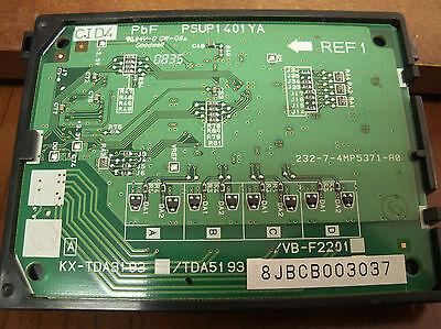 Panasonic Kx-tda50 Digital Hybrid Ip Pbx - Kx-tda5193 Cid4 - Caller Id Module