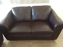 Leather sofa 2 seater In a good condition Camden Camden Area Preview