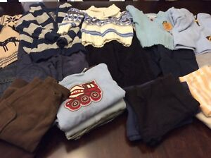 21 pieces Fall/Winter boys clothes 6-12 months