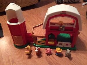 Ferme et maisonnette Little People