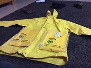 Used  heavy duty rain coat + new rain pants jacket make offer Woodcroft Blacktown Area Preview