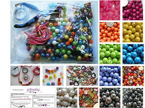 Perfect-Childrens-Jewellery-Making-Kit-Tools-Beads-Findings-and-Instructions