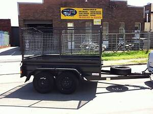 "8x5x20"" TANDEM TRAILER 2000KG GVM WITH 600MM CAGE Mortdale Hurstville Area Preview"