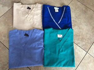 Nurse Scrubs Tops size M 8$ each