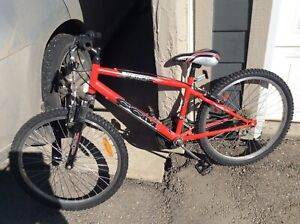 Kids Canadian CCM bike red good condition