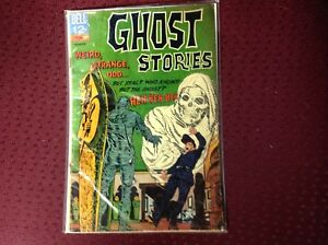 GHOST STORIES Dell Comic #16 1964,Good.
