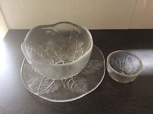 Large Salad bowl, Plate, dip container Colyton Penrith Area Preview