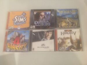 CD ROM Computer Games For Teens & Adults