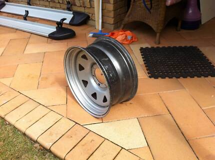 """Sunraysia 17"""" Silver Steel Rim Capalaba West Brisbane South East Preview"""