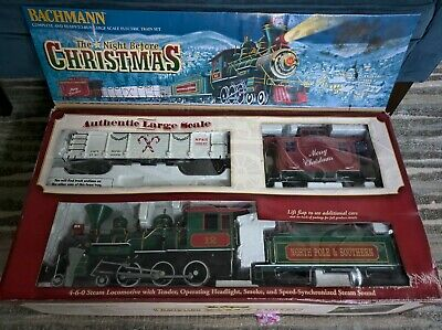 "Bachmann ""The Night Before Christmas"" (LARGE SCALE) Train Set (RTR)"