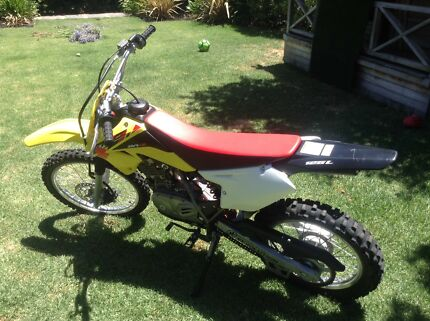 Suzuki DRZ-125L immaculate condition. Moving overseas