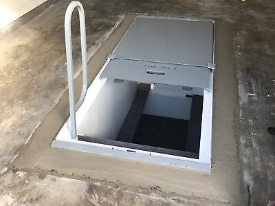 Tornado shelter safe room in ground, indoors, 4-6 people free shipping 48 states