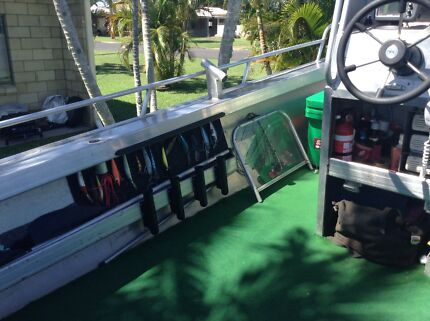 "Custom Built ""Profish"" Fishing Boat Tin Can Bay Gympie Area Preview"