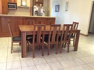 Solid 9 piece Dining Suite - MUST SELL!! PRICE DROP!! Munno Para West Playford Area Preview