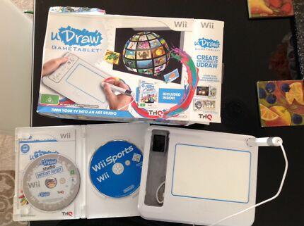 Wii U Draw, Sports &Pictionary $5 Lot