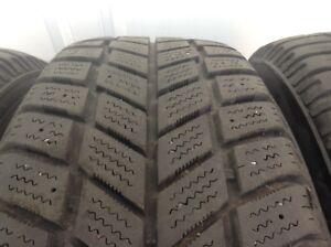 4 pneus d'hiver avec rim 16 pouces