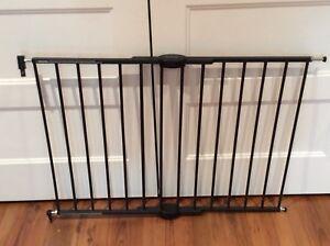 Barrière pour haut d'escalier