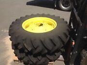 New Factory John Deere tractor rims & Titan tyres 13.6-28 Penrith Penrith Area Preview