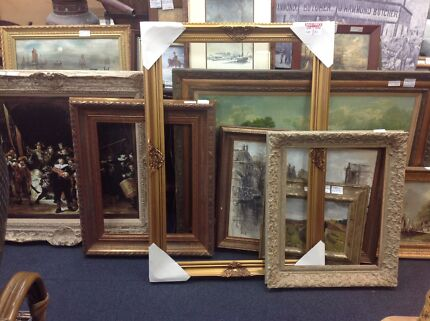 Ornate Gold Picture Frame   Picture Frames   Gumtree Australia Gold ...