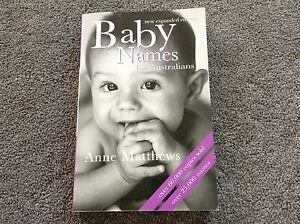 Baby names book Werribee Wyndham Area Preview
