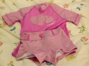 Speedo girls size 5 top and shorts set box 8 Reservoir Darebin Area Preview