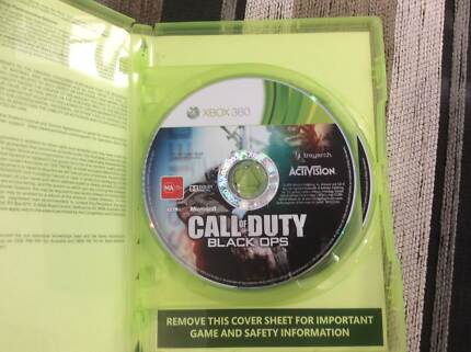 Call Of Duty Black Ops COMBO PACK 1 and 2 (XBOX 360 and XBOX ONE) Truganina Melton Area Preview