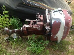 1956 30 hp johnson outboard