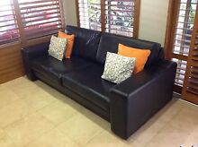Leather Sofa,s Mount Claremont Nedlands Area Preview