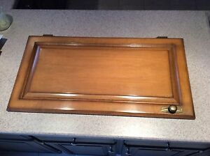 "11 Solid Maple Cabinet doors 15.5"" x  29.5"""