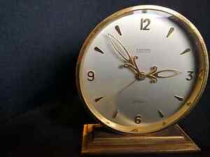 Looping Mantle Clock. Swiss made, 1950's art Deco Endeavour Hills Casey Area Preview