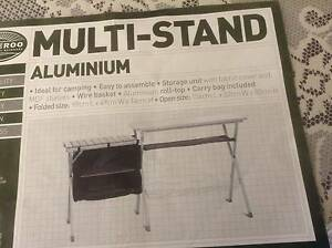 As new Aluminium multi stand with zippered cupboard St Albans Brimbank Area Preview
