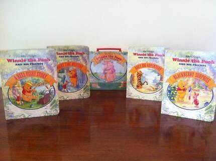 DISNEY WINNIE the Pooh HARDCOVER Vintage box sets x 2