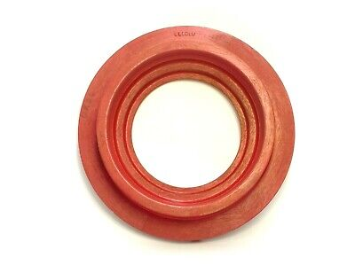 CIRCLE RED PAINTED WOOD FOUNDRY CASTING PATTERN MOLD INDUSTRIAL SCULPTURE ART Cherry Rope Molding