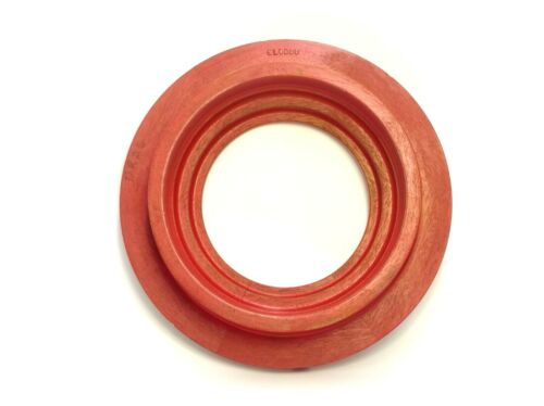 CIRCLE RED PAINTED WOOD FOUNDRY CASTING PATTERN MOLD INDUSTRIAL SCULPTURE ART