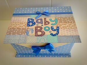 BABY BOY KEEPSAKE BOX -BRAND NEW Beeliar Cockburn Area Preview