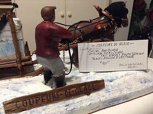 Sculpture coupeur de glace
