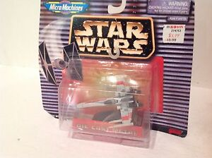 Micro Machines X-Wing Star Wars 1996 sur Carte