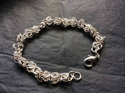 .925 Sterling Silver Twist Parrot Bracelet ** Brand NEW Woodville Gardens Port Adelaide Area Preview